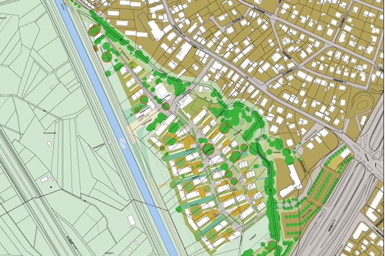 Einblick in die Planung (Foto: Stadt Freiburg)